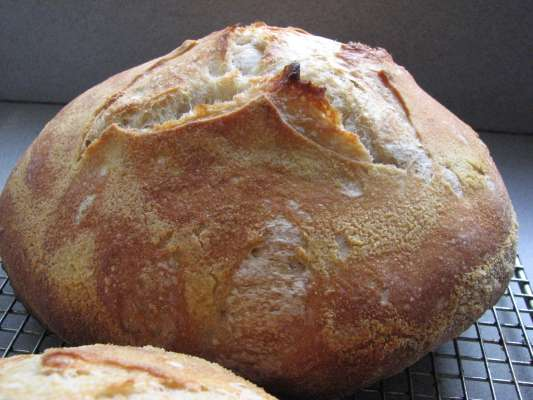 Bread made with Natural Directions flour