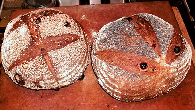 Carl Legge's Sourdough Breakfast Bread