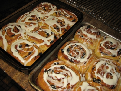 Cinnamon Rolls Sourdough Style