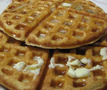 Sourddough Sourcream Waffles