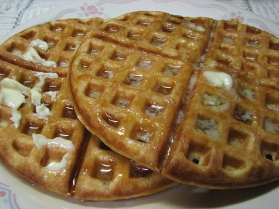 Sourdough Sourdcream Waffles