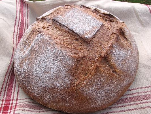 Wholegrain Sourdough Miche