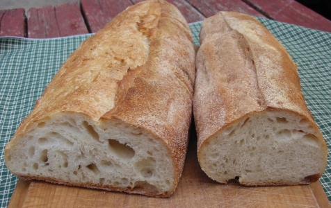 interior two loaves