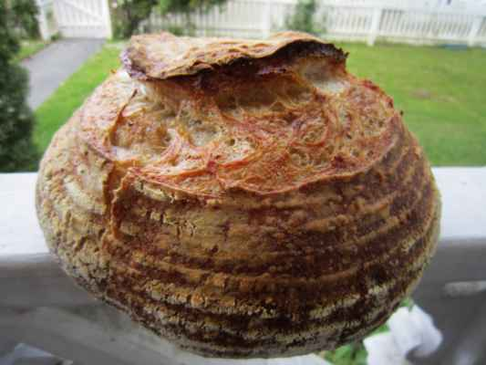 Flax Potato Sourdough Bread