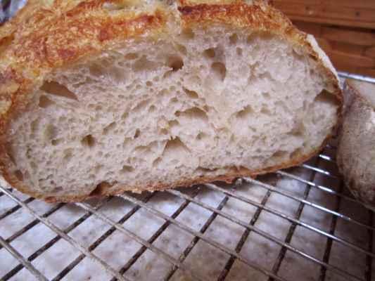 Potato Flax bread crumb