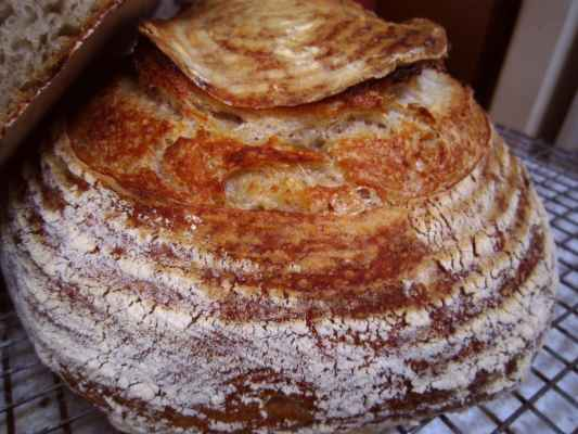 Potato Flax Sourdough Bread