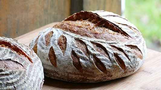 Scoring Artisan Bread