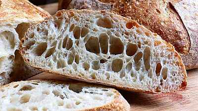 Sourdough Bread Holey Crumb