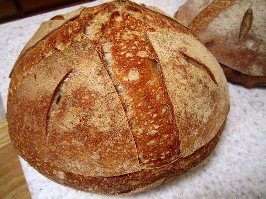 Buried Sourdough Bread