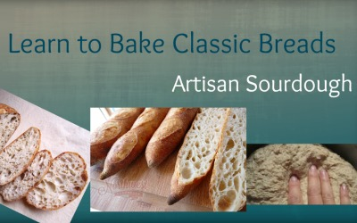Classic Sourdough Bread Baking